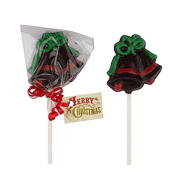 Chocolate Bell Lollipop
