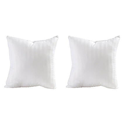 Pair of White Cushion Fillers