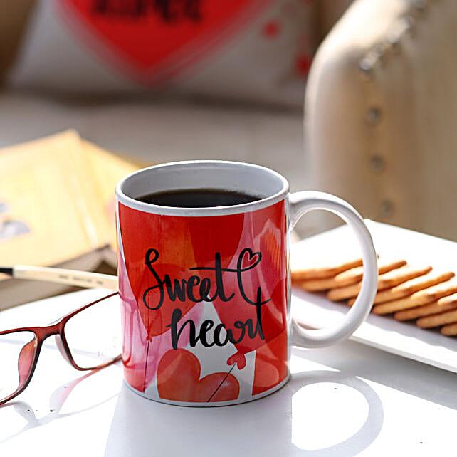 Sweet Heart Printed Love Mug