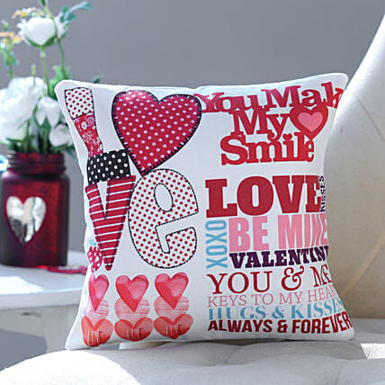 Valentines Love Cushion