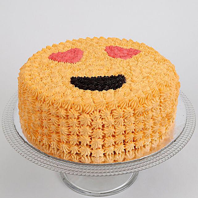 Love Smiley Chocolate Cake 1 Kg