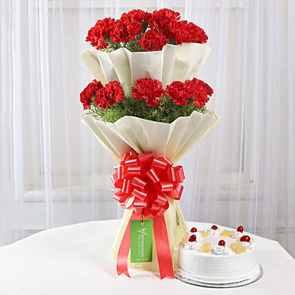 online flower bouquet n cake:Flowers & Cakes for Her