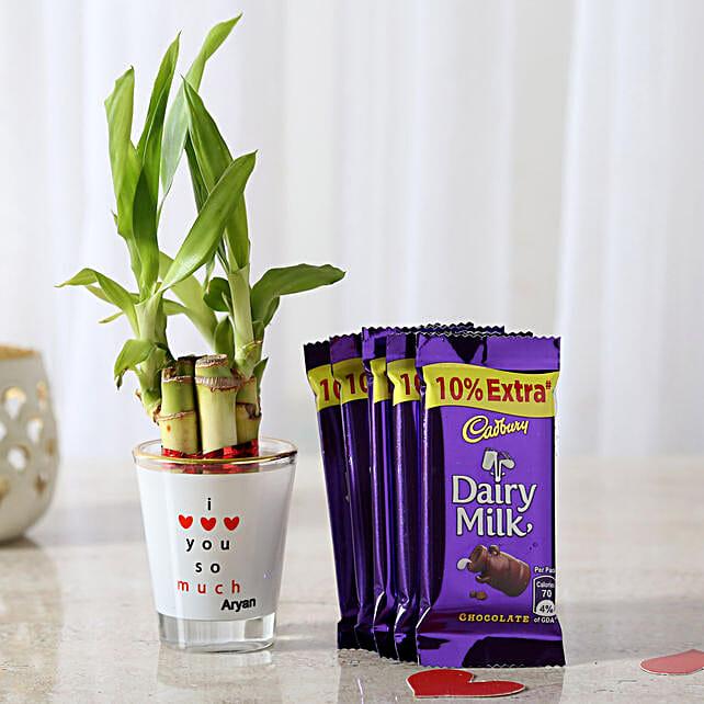 5 Dairy Milk & Lucky Bamboo