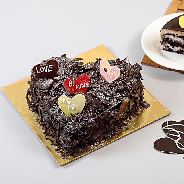 Choco Blast Love Cake Half kg