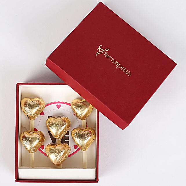 Handmade Chocolates in FNP Red Box
