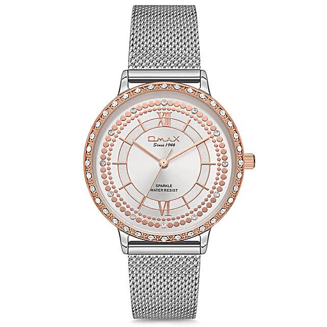 Sparkle Silver Watch Online