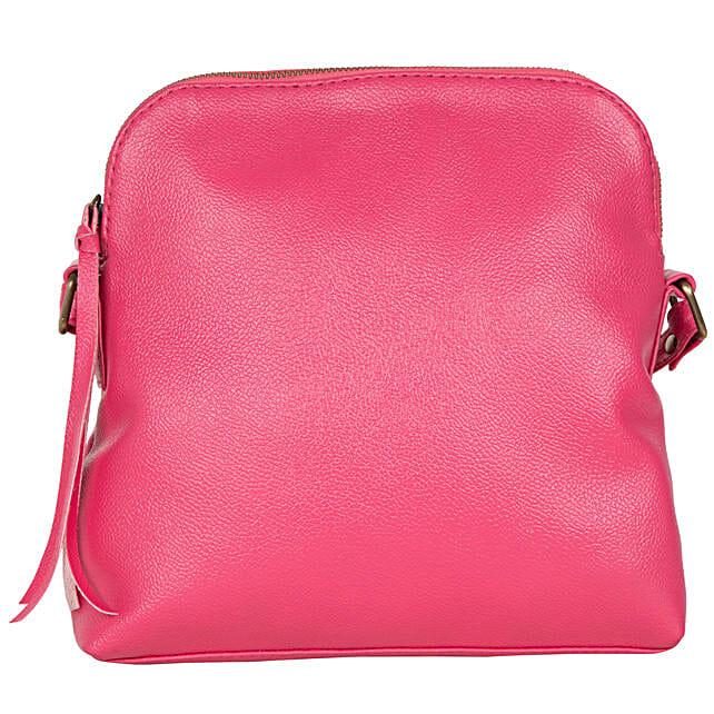 Purseus Aurotic Sling Bag- Pink