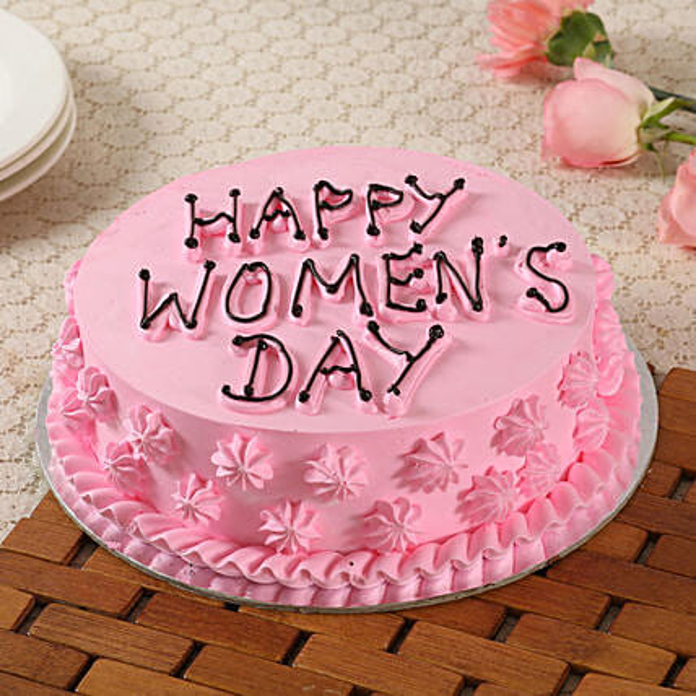 Happy Women's Day Chocolate Cake- Half Kg