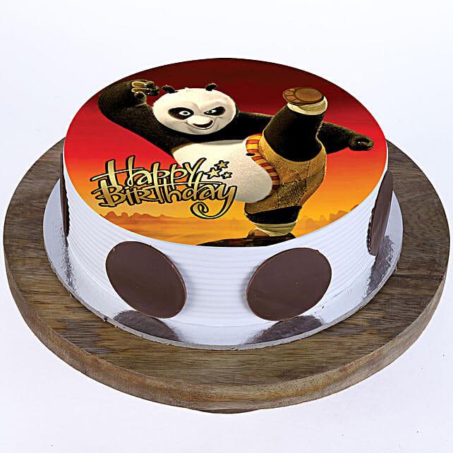 Kung Fu Panda Butterscotch Cake 2Kg