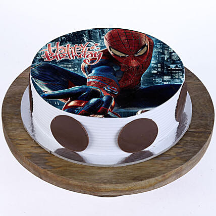 Marvel Spiderman Pineapple Cake 2Kg Eggless