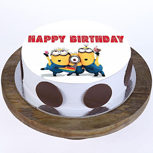 Quirky Minions Vanilla Cake 2Kg