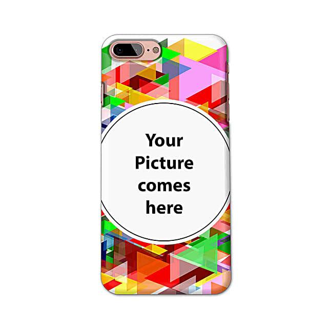 Apple iPhone 8 Plus Multicolor Personalised Phone Cover