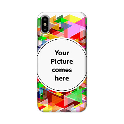 Apple iPhone X Multicolor Personalised Phone Cover
