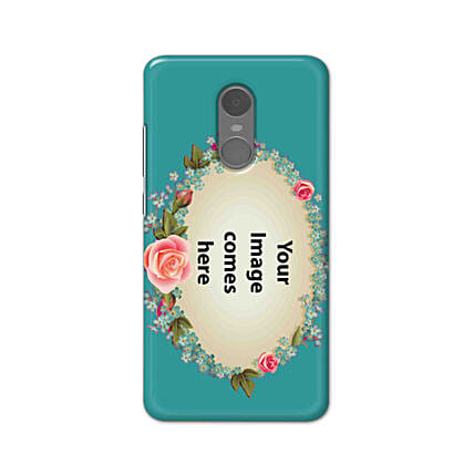 Redmi Note 4 Blue Mobile Cover Online