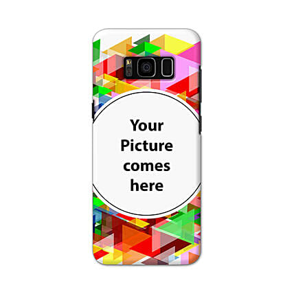 Samsung Galaxy S8 Multicolor Personalised Phone Cover