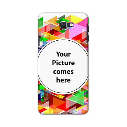 Samsung J7 Pro Multicolor Personalised Phone Cover