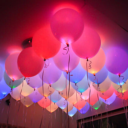 LED Party Balloons Pack