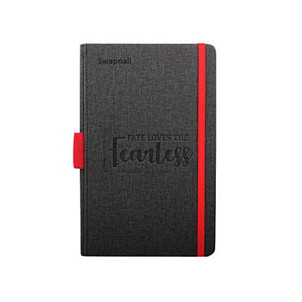 Personalised Notebook For The Fearless