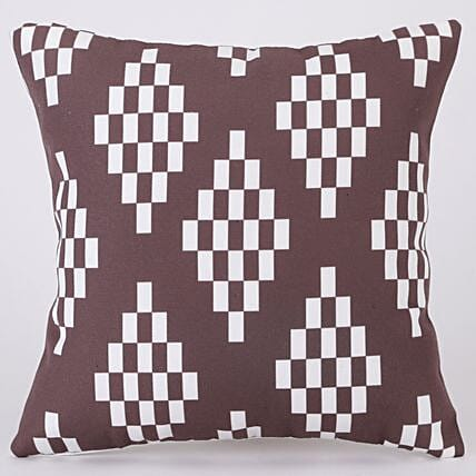 Elegant Abstract Design Printed Cushion Cover