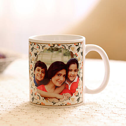 Womens Day Personalised photo mug