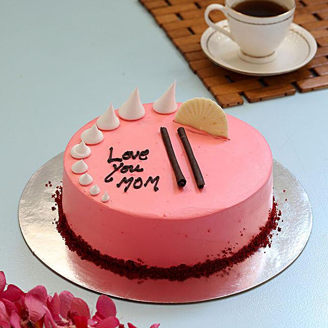 Cream Drop Black Forest Cake For Mom- 1 Kg