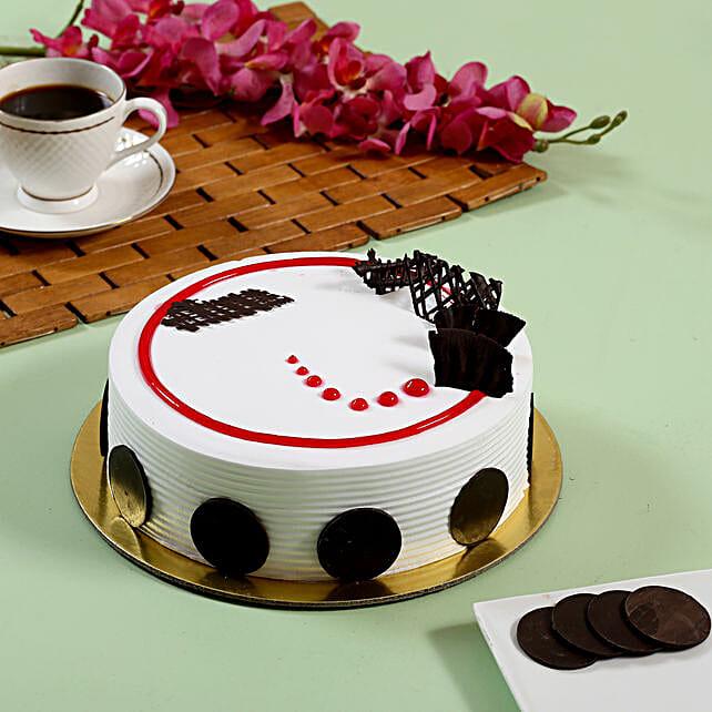 Creamy Strawberry Cake- 1 Kg Eggless