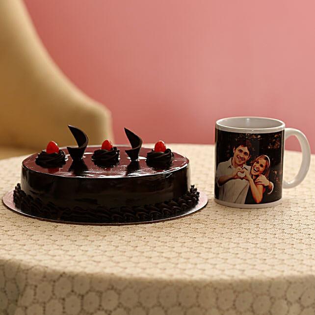 Online Cake with Mug