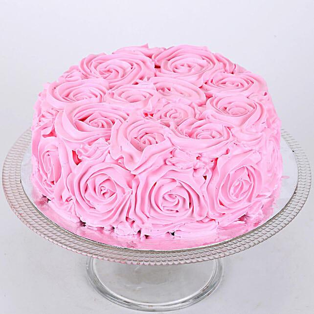 Floral Chocolaty Cake 2kg Eggless