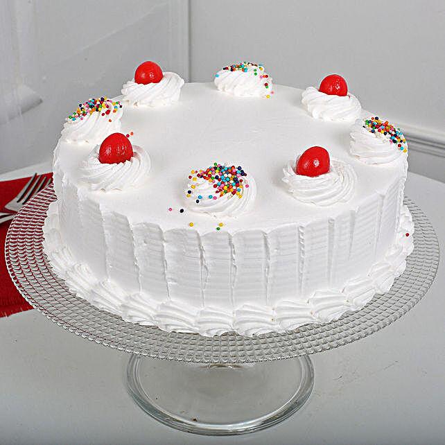 Yummy Vanilla Cake Half kg