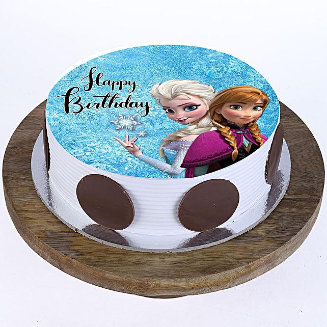 The Frozen Photo Cake- Pineapple 1 Kg