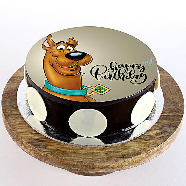 Scooby Doo Birthday Cake Online