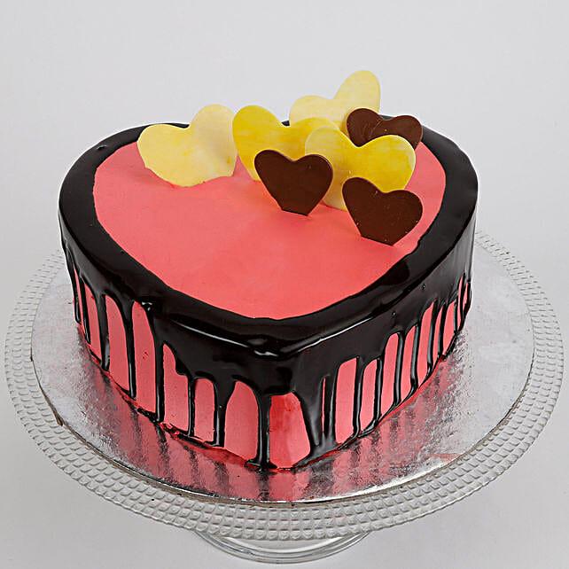 1kg Delicious Hearts Cake