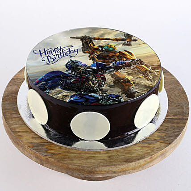 online transformer photo cake