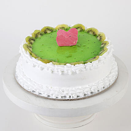 Fresh Kiwi Fruit Cake- Half Kg
