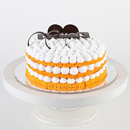 Orange Cream Cake- 1 Kg