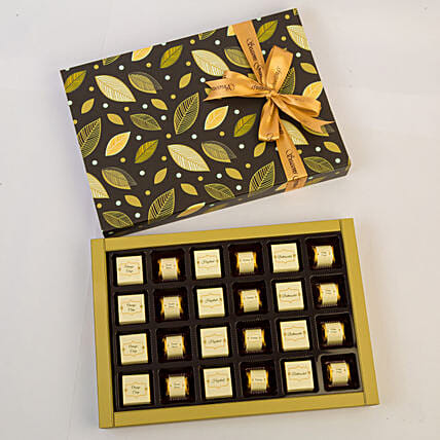 Assorted Chocolates In Beautiful Box- 24 Pcs
