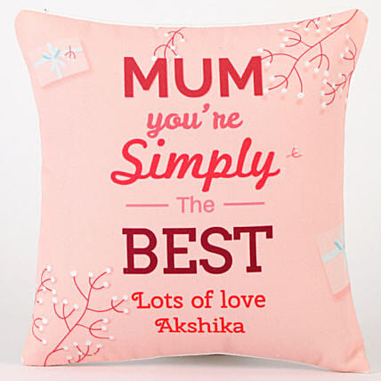 online printed cushion for mom