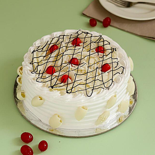 Online White Cake:White Forest Cakes