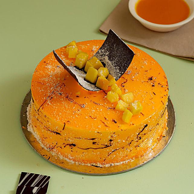 Online Exquisite Mango Cake
