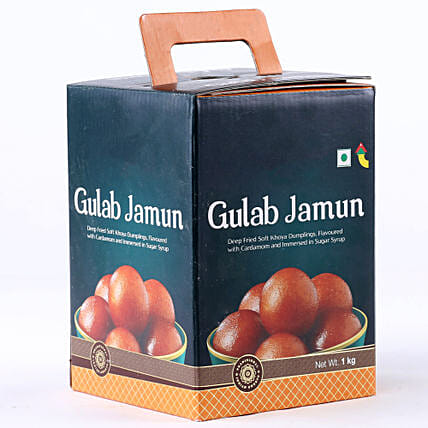 Tin of gulab jamun:Fathers Day Sweets