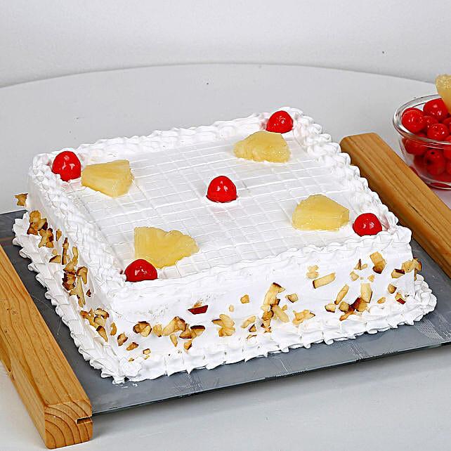 Fresh Fruit Cake Half kg