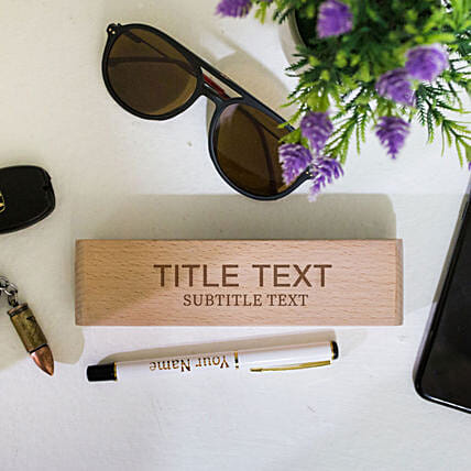 wooden box with pen online