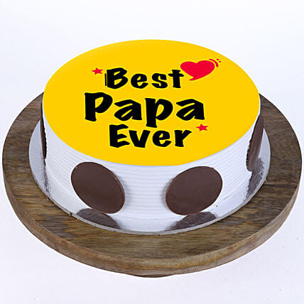 Personalised Cake for fathers day
