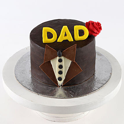 Designer Bow Tie Chocolate Cake- 2 Kg Eggless
