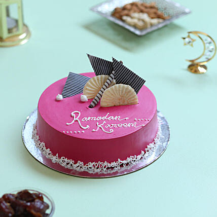 Ramadan Special Black Forest Cake- 1 Kg Eggless