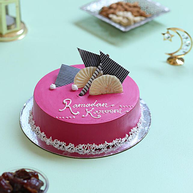 Ramadan Special Butterscotch Cake- 1.5 Kg Eggless