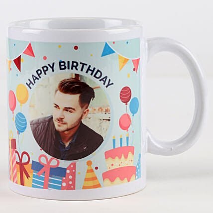 Personalised Photo Mug for Birthday Online
