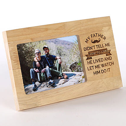 Photo Frame for Father's Day