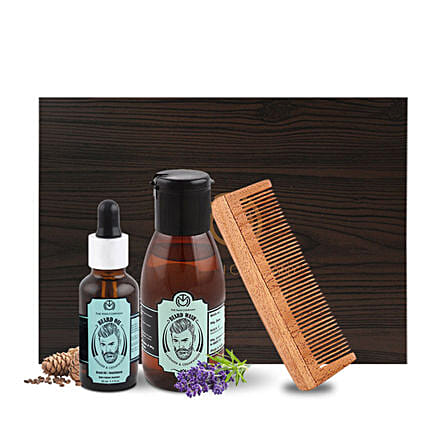 The Man Company Beard Grooming Combo