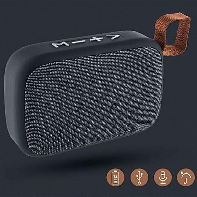 Black Bluetooth Bang Speaker